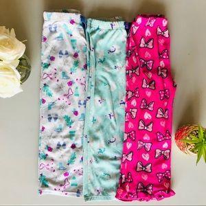 5T Girls Pajama Pants Fleece